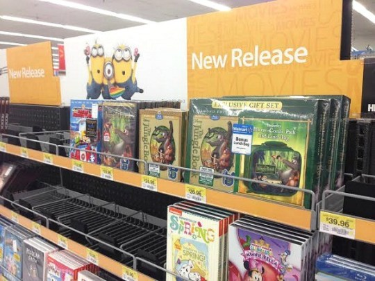 Disney's The Jungle Book in Walmart stores
