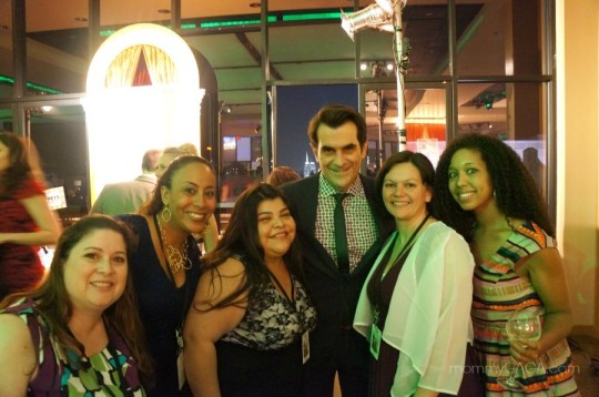 Bloggers with Ty Burrell at the Muppets Most Wanted Premiere