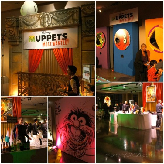 Muppets Most Wanted Premiere After Party