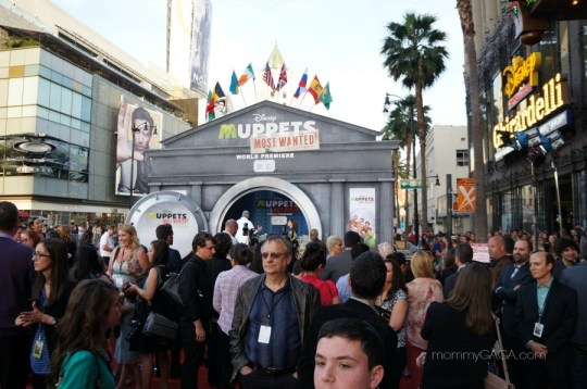 Muppets Most Wanted premiere at El Capitan Theater