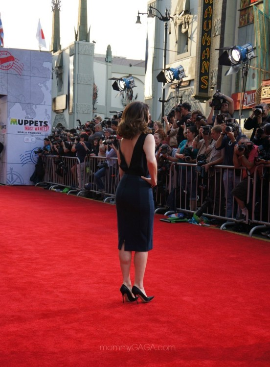 Tina Fey, Muppets Most Wanted premiere, Los Angeles, CA, March 11, 2014
