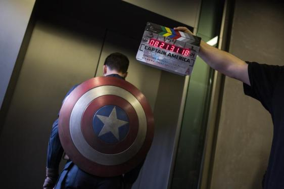 The Filming of Captain America, The Winter Soldier
