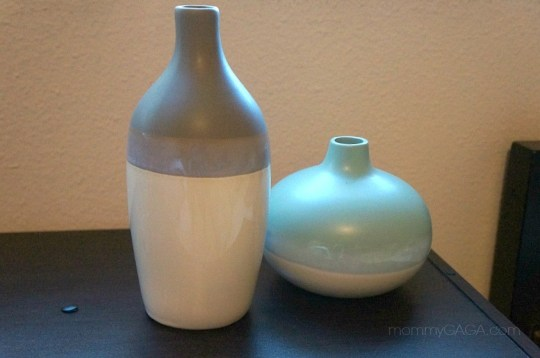 home decor painted ombre vases