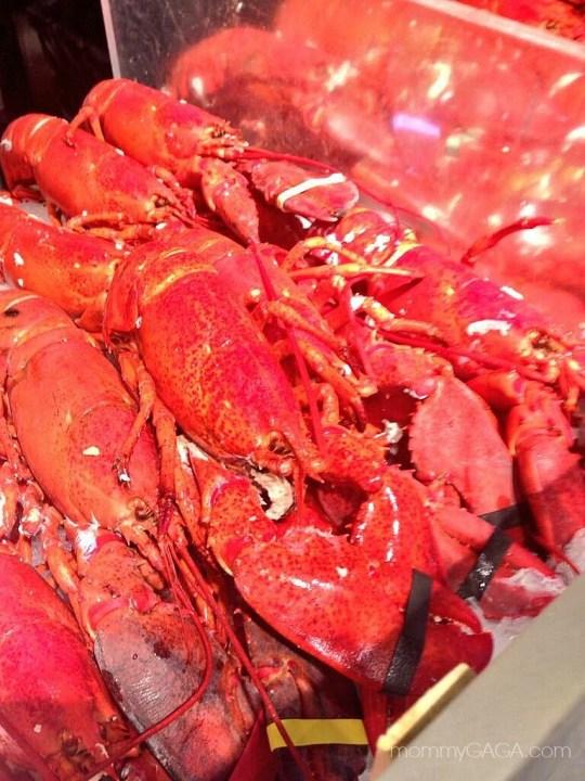 Fresh Lobsters, Chelsea Market, New York