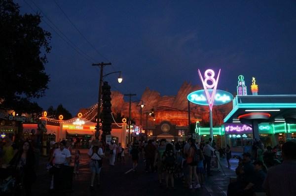Inside CARSLAND, Disney's California Adventure theme park