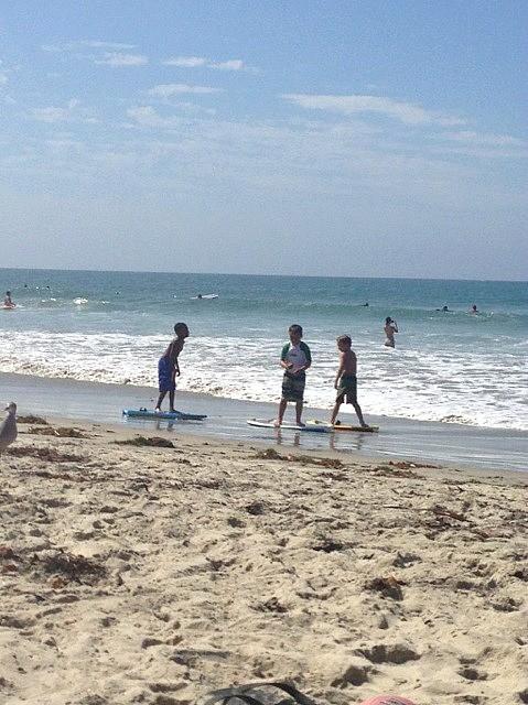 San Diego in September, surfer dudes