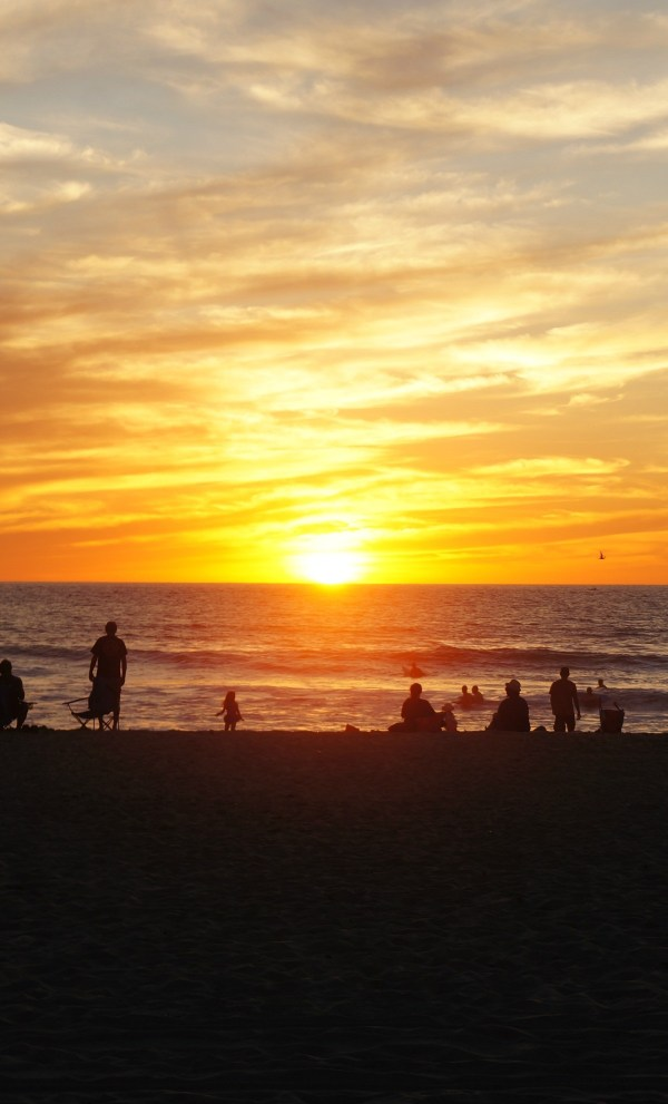 San Diego Sunset, Octtober 2014