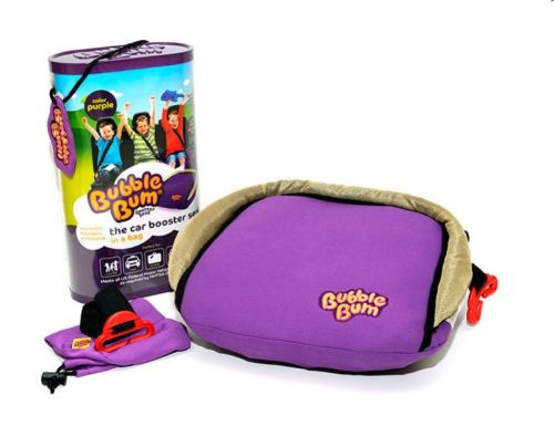 Bubble Bum Portable Travel Car Booster Seat for Kids