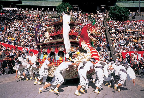 Nagasaki Kunchi Festival, Tsunagu Japan