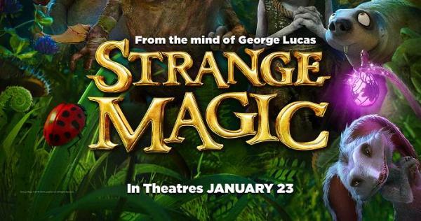 Strange Magic Movie, in theater January 23