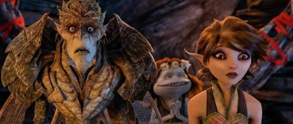 Strange Magic movie still, Bog King and Dawn, Touchstone Pictures