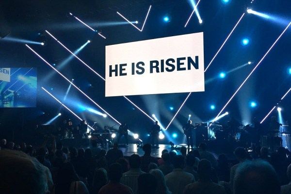 He Is Risen, Easter 2015 at The Rock San Diego