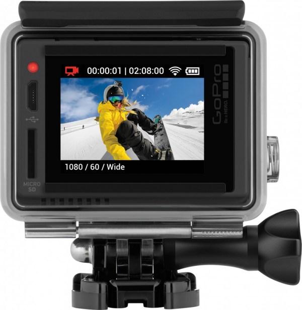 GoPro HERO at Best Buy, snow boarding adventures on camera