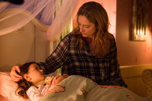 Marvel's Ant-Man L to R: Maggie (Judy Greer) and Cassie (Abby Ryder Fortson) Photo Credit: Zade Rosenthal © Marvel 2014