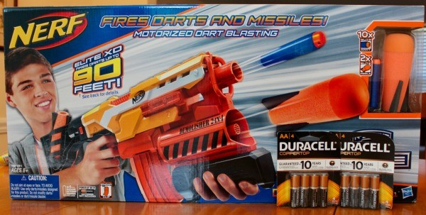 Power up Nerf dart blaster with Duracell batteries this summer