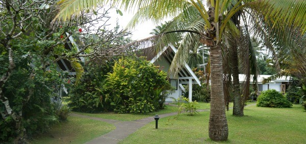 Palm Grove Resort, Rarotonga, Cook islands, garden rooms