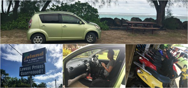 Rarotonga Cook islands Trip, Island Car and Bike Hire rentals