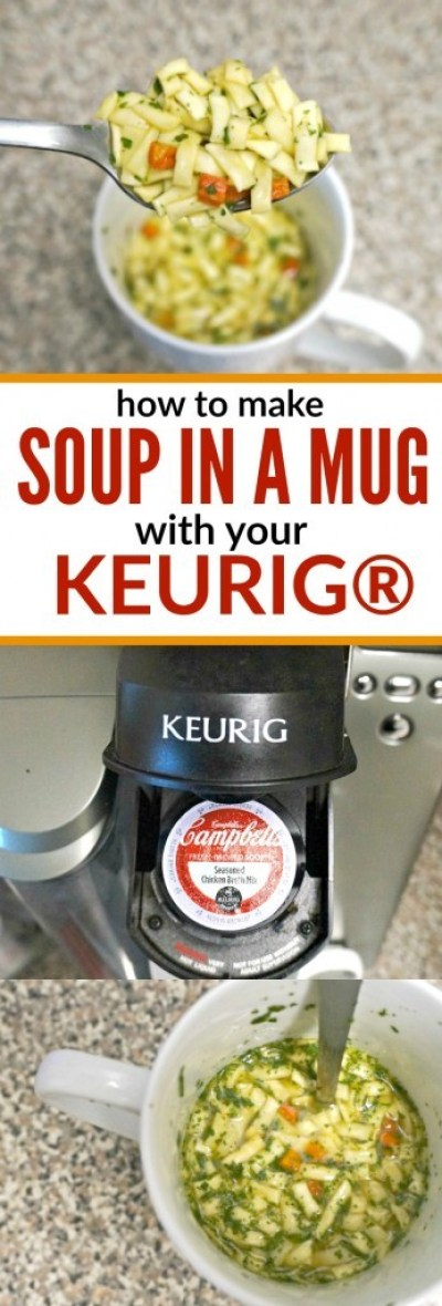 How to Make Soup In A Mug with Your Keurig® Brewer!