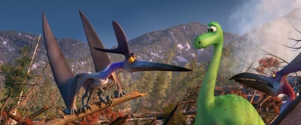The Good Dinosaur Still, Arlo meets other dinosaurs