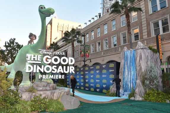 World Premiere Of Disney-Pixar's THE GOOD DINOSAUR At El Capitan Theatre 11-17-15