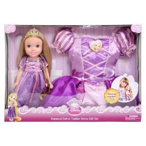 Disney Princess Doll and Dress Set (Rapunzel)
