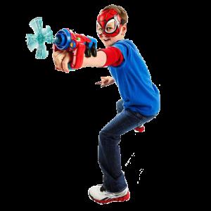 Marvel Spider-Man Adventures Playskool Heroes Spider-Man Web-Slinger & Mask Set