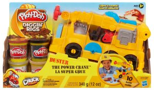 PLAY-DOH Diggin' Rigs Tonka Chuck & Friends Buster the Power Crane