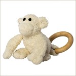 ZOOLEY MONKEY TEETHING TOY BY RINGLEY