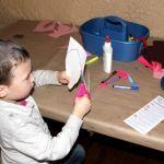 Casa Loma - making a dragon scale