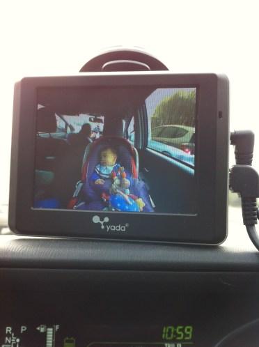 Yada Tiny Traveler car monitor