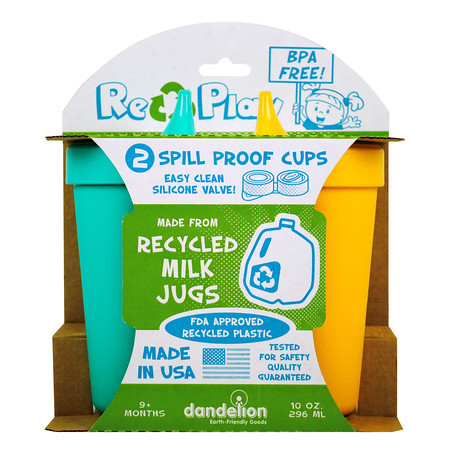 Dandelion Re-Play Spill Proof Cups