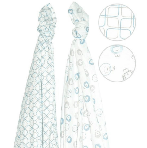 Perlimpinpin muslin swaddle blankets