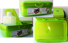 Sistema Plastics Slimline container