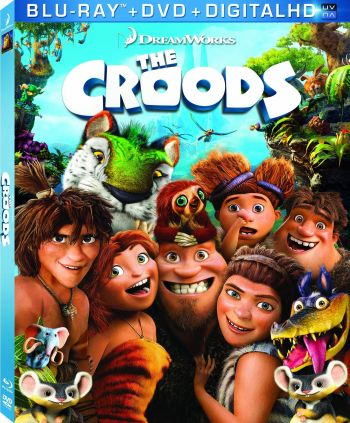 The Croods on Blu-ray and DVD Combo Pack