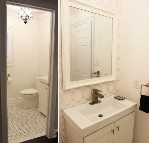 Main floor washroom reno
