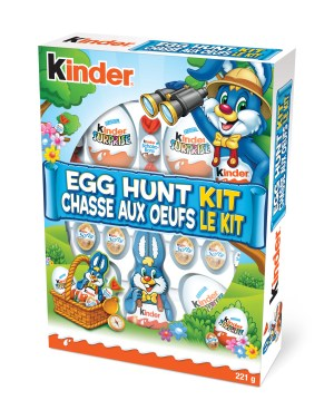 KINDER Egg Hunt Kit