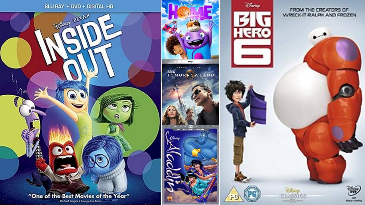 2015 family DVDs