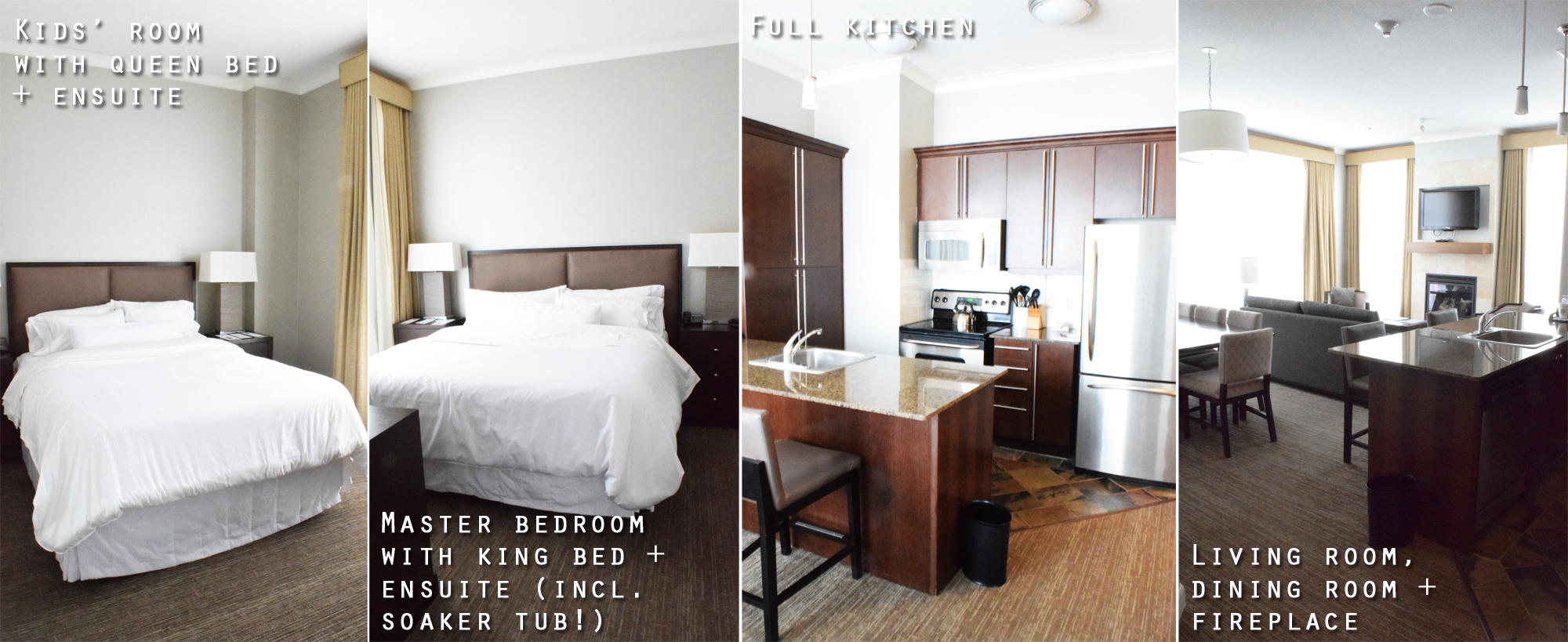 Westin Trillium House two-bedroom suite