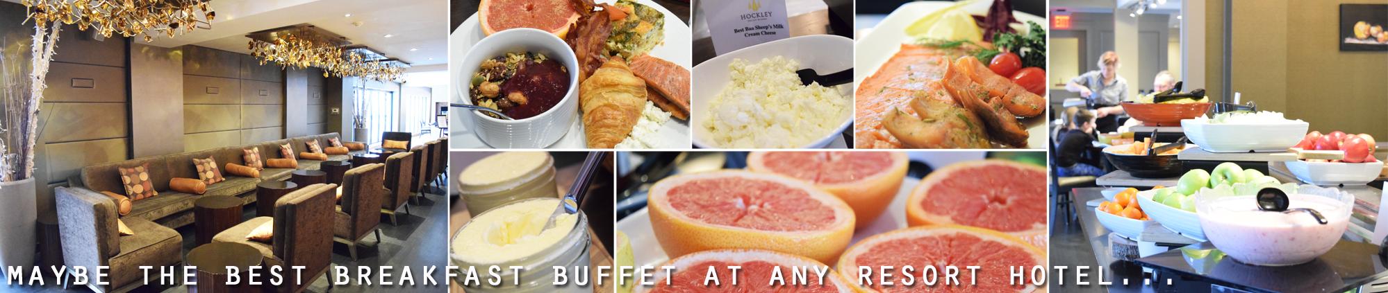 Hockley Valley Resort buffet breakfast