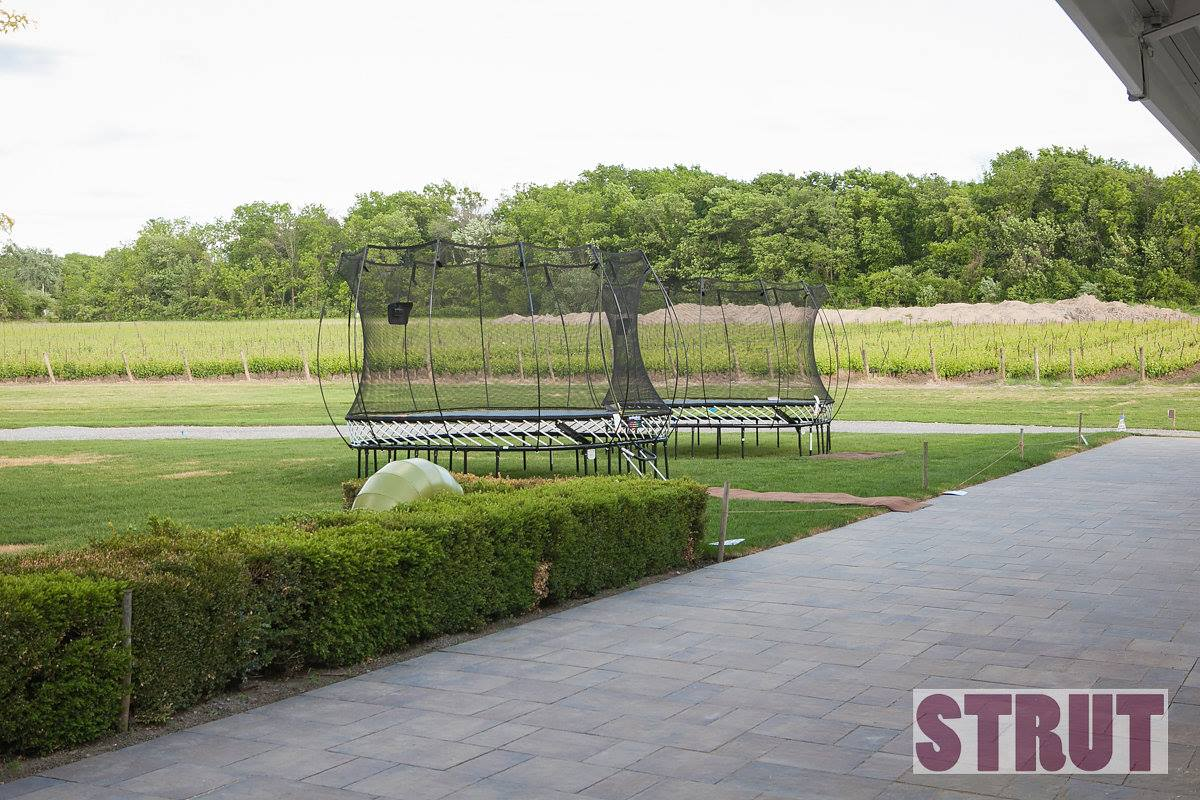 Springfree Trampolines at STRUT