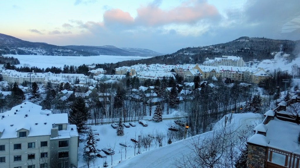 View of Tremblant village