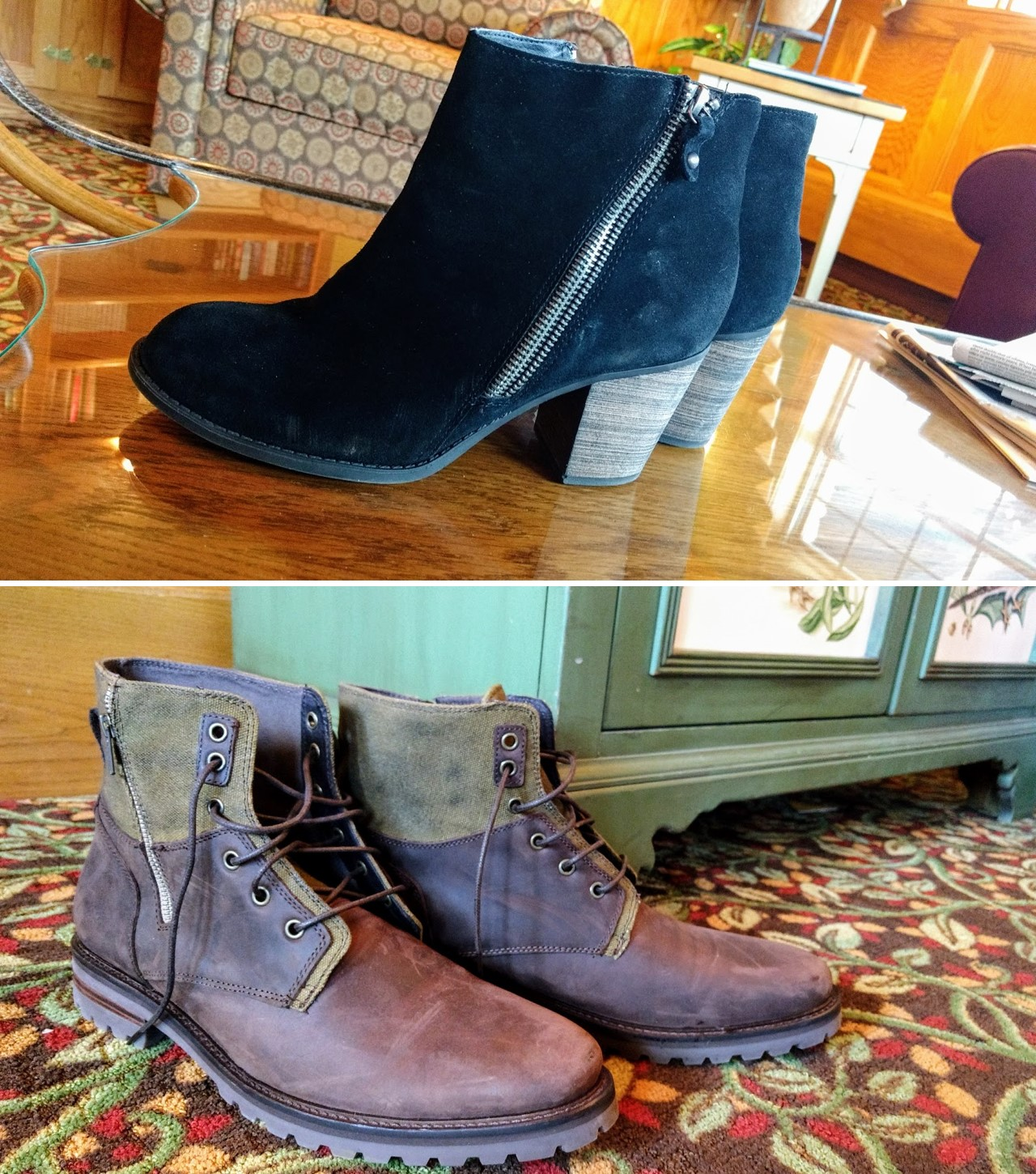 SKECKERS dress boots for men and women