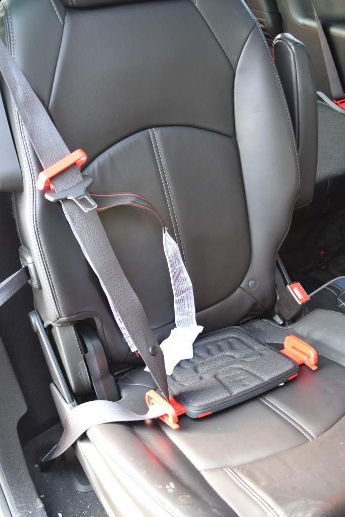 "Installation may look different in your vehicle depending on your seat's ""creases."" Mine do not allow the mifold booster to be tucked into the crease at all. This does not seem to impact performance."