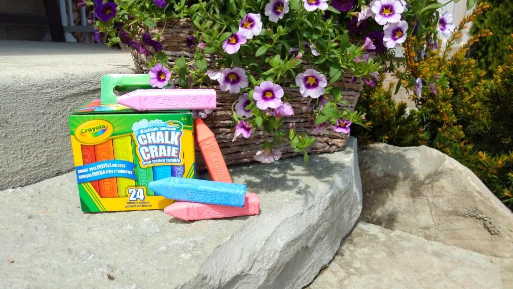 washable sidewalk chalk