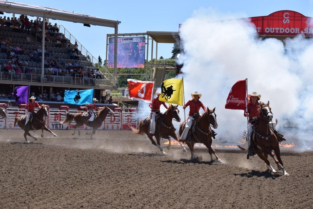 Calgary Stampede opening ceremonies