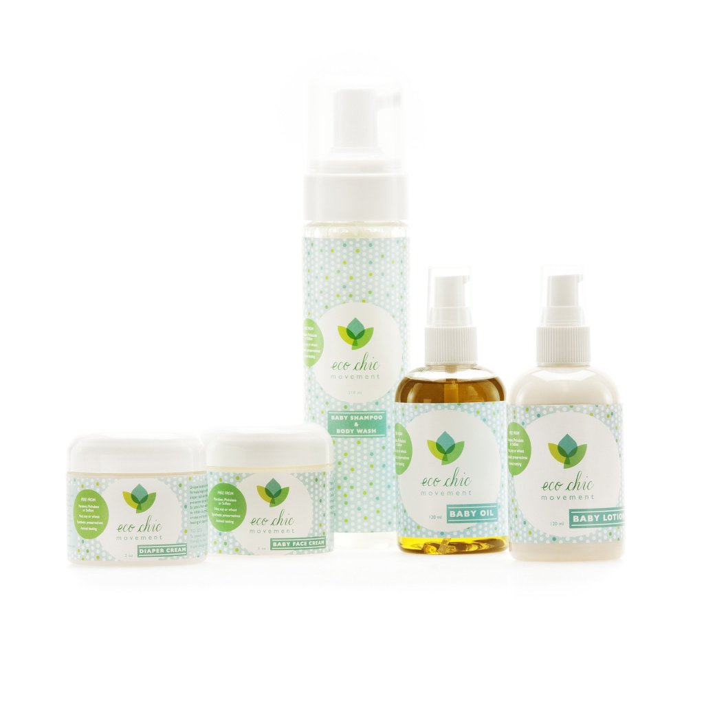 Eco Chic Baby gift set