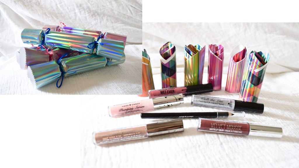 Hard Candy makeup holiday crackers
