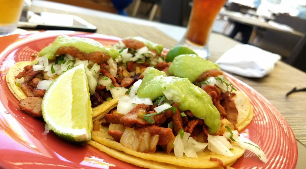 Fresh tacos at Caribeno, at The Grand at Moon Palace