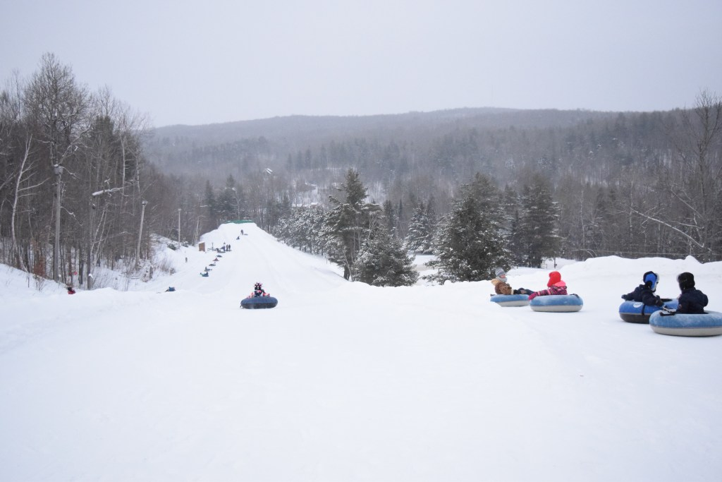 Tubing at Titus Mountain