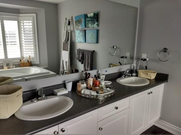 Quartz Granite Bathroom Vanity Countertop